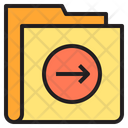 Right Arrow Folder Icon