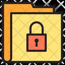 Lock Key Folder Icon