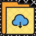 Download Cloud Folder Icon
