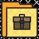 Bussiness Bag Folder Icon