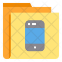 Mobile Smartphone Folder Icon