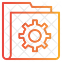 Process Gear Folder Icon