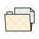 File in Folder Icon