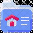 Folder House Buke Icon