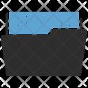 Files Folder Storage Icon