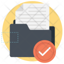 Checked Folder Project Icon