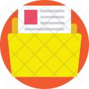 File Folder Storage Icon