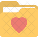 Heart Sign Folder Icon