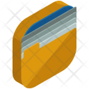 Folder Data Collection Icon