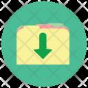 Move Folder Down Icon