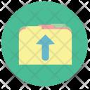 Move Folder Up Icon