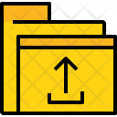 Folder Upload File Icon