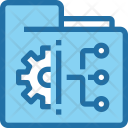 File Management Business Icon