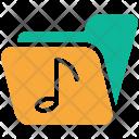 Folder Musical Music Icon