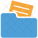 Folder Paper In Icon