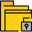 Folder Unlock File Icon