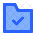 Folder Security Verified Icon