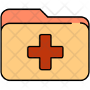 Medical Folder Data Icon