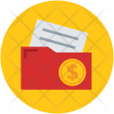 Folder Financial Documents Icon
