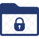 Folder Lock Security Icon