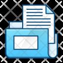 Folder Data Business Icon