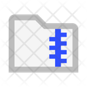 Folder Archive Zip Icon