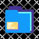 Folder Data Collection Icon