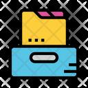 Folder Files Cabinet Icon