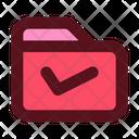 Business Management Folder Icon