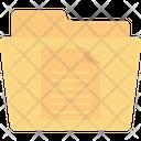 Paper Folder Documents Folder Icon
