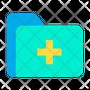 Folder Medical Medical Documents Icon