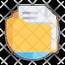 File Folder Portfolio Icon