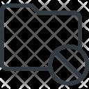 Folder Directory Delete Icon