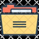 Folder Binders Dossier Icon