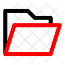 File Folder Open Icon