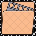 Folder Files Reel Icon