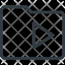 Folder Directory Media Icon