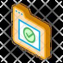 Check Computer Directory Icon