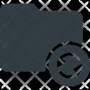 Folder Directory Syncronize Icon