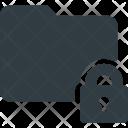 Folder Directory Lock Icon