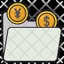 Folder Dollar Finance Icon