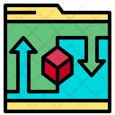 File Data Storage Icon