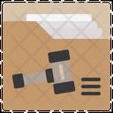 Folder Case Study Lawyer Icon