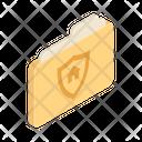 Folder Record Organisation Icon