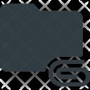 Folder Directory Attache Icon