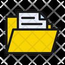 Folder Files Document Icon
