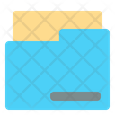 Folder Storage Data Storage Icon