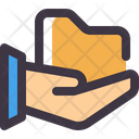 Share Hand Archive Icon