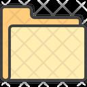 Folder Paper Files Icon