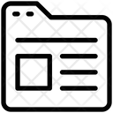 Folder Document Template Icon